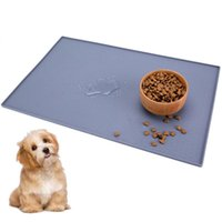 Pet Feeding Silicone Mat Puppy Cat Feeder Water Drinking For Dog Dish Bowl Feed Placemat Supplies Kennels & Pens