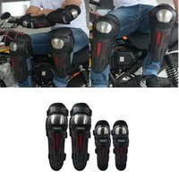 Motorcycle Armor 4piece Outdoor Riding Protective Gear Windproof Stainless Steel Cross-country Knee Pads And Elbow