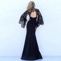 Casual Dresses Plus Size 2021 Ever Pretty EP08838 Elegant Mermaid Lace Sleeveless V-neck Long Party Gowns Sexy Wedding Guest