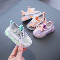 Bebek Atletik Çocuk Ayakkabı Bebek Sneakers Kız Erkek Ayakkabı Çocuk Yaz Toddler Çocuk 1-3 Yaşında Rahat Koşu Ayakkabı B7688