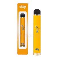 City 1600 Puffs Одноразовые E-Cigarettes Аккумуляторное устройство Vape Pen Starter Наборы электронные сигареты Vapes Bang XXL