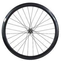 عجلات الدراجة الكربون العجلات 700C الفاصلة 50 ملليمتر لايحتاج 25 ملليمتر عجلة CT31 المحاور الخلفية 142x12mm 900 جرام ud 3k القرص الطريق
