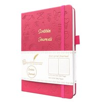 Buke Squibles Lognals Dot Grid Cuaderno Dibujo Bullet Sketchbook-160gsm Paper 210611