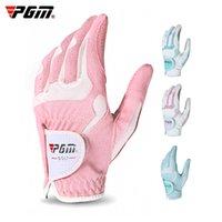 PGM прямые гольф перчатки женские супер волокнистые противоскользящие частицы плюс
