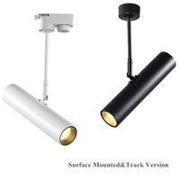 Track Lights Nordic LED Light Spotlight Rail Lamp Modern Daily Lighting Adjustable With Pole For Bedroom Shop Showroom Exhibition 12W