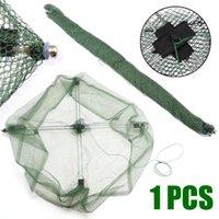 Angelzubehör Tragbare faltbare Net Fischkrabbe Minnow Shrimp Köder Gussnetzfalle Outdoor Tackle Werkzeuge Hohe Qualität