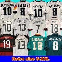 2014 Almanya Retro Littbarski Klinsmann Matthias Kalkbrenner Retro1996 2004 1992 Eve Dight Jersey 1980 1988 1990 1994 1998 Almanya Retro