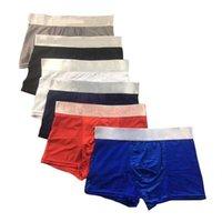 5pcs / lot homme sanctuaires Boxer shorts coton mode sexy hommes boxeurs adultes boxershort sous-vêtement mâle imprimé