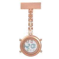 Relojes Enfermeras portátiles Reloj de enfermería digital de alta calidad Broche FOB Enfermería con clip de seguridad Electrónica Doctor Reloj Regalo