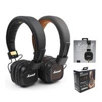Наушники Marshall Major II Проводная гарнитура с микрофоном Bass HiFi DJ Monitor Наушники