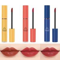Lip Gloss QIC 3 Colors Nude Matte Liquid Lipstick Mate Waterproof Long Lasting Moisturizing Lipgloss Makeup Cosmetics