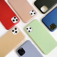 Wholesale Frosted Plastic Mobile Cases PC Hard Back Cover For iPhone 12 Pro Max 11 XR 7 6