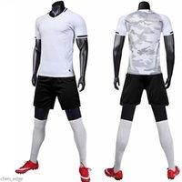 1656778shion 11 فريق مجموعات الفانيلة فارغة، مخصص، تدريب كرة القدم ملابس قصيرة الأكمام الجري مع السراويل 022636749