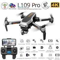 UAV L109 Pro Professioneller Drohne mit 4K HD Elektrische Anpassungskamera 5G Wifi FPV GPS 1200M bürstenlos Motor Faltbarer RC Quadcopter Q0602