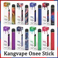 Kangvape Onee 스틱 E 담배 1900 퍼프 6.2ml 및 알파아 플러스 vape 펜 키트 2200 퍼프 8.5ml 일회용 포드 장치