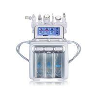 6 em 1 Bolha de Oxigênio de Hidrogênio segunda geração 2 H2O2 pequena bolha facial máquina de microdermoabrasão