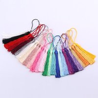 Decorative Objects & Figurines Bookmark Tassels For Crafts Keychain Graduation Trim Sewing Curtains Accessories#40