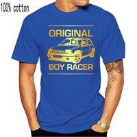 Men's T-Shirts Mens Boy Racer Renault 5 GT Turbo T Shirt Classic Retro French Car