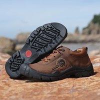 أحذية رجالية التجارة الخارجية عبر الحدود جلد BATOU للأدوات الرياضية غير القابلة للانزلاق في الهواء الطلق