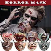 Halloween masks Unisex Face Mask Quick Dry Tech Reusable Washable Protection Cover Mask Printed Masks Mouth-muffle Disposable
