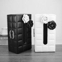 Style de mode Perceuse lumineuse La texture de la toilette papier boîte de tissu est un navire gratuit