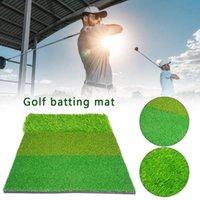 3-IN-1 40 cm x 60 cm EVA Golf Hitting Mat de la práctica del césped artificial CHEED CRAING PAD CON TEE REGALO PARA INTERIOR ABAJO NIÑOS GOLFER SIDA