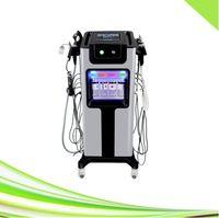 8 en 1 Removedor de cabeza negra profesional Vacuum Ultrasonic RF Oxygen Jet Piel Facial Apretar la máquina de la cáscara del jet de oxígeno