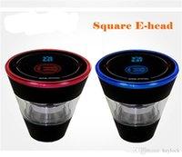 Square E Head Ehead E Hose Mini Shisha Square Chartridge Repillable Ehookah одноразовый кальян 2400mah Vaporizer 8ml голова