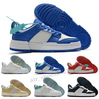 Novos Interruptes Homens Mulheres Correndo Sapatos Low Photo Pó Preto Branco Jogo Royal Dunks Homens Treinadores Esportivos Sneakers Sneakers Tamanho 36-45