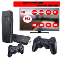 Portable Game Players Video Consoles 4K HD 2.4G Wireless 10000 Games 64GB Retro Mini Classic Gaming Gamepads TV Family Controller For PS1 GB