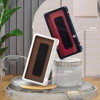 Aufbewahrungsboxen Bins Badezimmer Wasserdichte Telefon Durable Case Generation Punch-Free Wandmontierter Touchscreen Mobile Inhaber