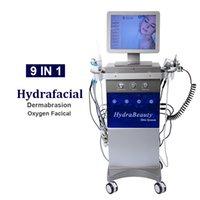 Spa Hidrakasiyal Makinesi Yüz Dermabrazyon Cilt Yenileme Hidrofasiyal Yüz Temiz Tedavi Bio Mikrocurrent Hydra Mikrodermabrazyon