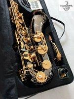 Gerçek Resim Tenor Saksafon Yanagisawa T-992 BB Müzik Enstrüman Siyah Altın Anahtar Kalite Pirinç İnci Düğmeleri