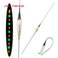 Angelzubehör leuchtend Boya Reed Material Float + One CR425 Batterie Süßwasser Pesca Große Auftrieb Shallow Karpfen Tackle