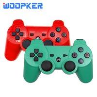 PlockStation için PS3 Konsolu Kontrol Cihazı için Kablosuz Bluetooth Denetleyicisi 3 Dualshock Joystick PC Gamepads