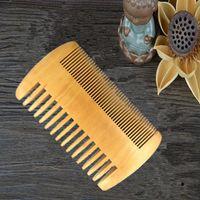 Hair Brushes Wooden Mahogany Brush Comb For Unisex Beard Care Anti-Static Tools Round