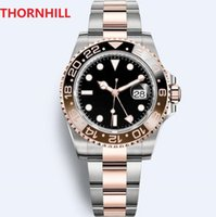 Super Box Watch 116610LV 116613DWELLERS 904L Stainless Steel Two-way Ceramic Bezel Luminous Mens Automatic Machinery Classic Self-wind Deep Sweeping Wristwatches