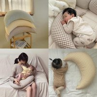 Pillows Born Baby Posing Pillow Moon Shape Infant Nusing Crib Bumper Room Decoration For Pregnant Women