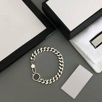 Bracelet unisexe Collier Bracelets de mode pour homme Femme Chaîne Colliers Design Bijoux Boîte Besoin d'un coût supplémentaire