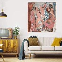 홈 장식 캔버스 수공예품에 대형 유화 / HD 인쇄 벽 아트 그림 맞춤 설정 수용 가능 21072204