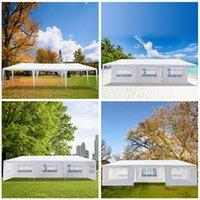 3 x 9m Grands grands côtés Tentes de mariage de jardin extérieur de jardin portables Pergolas étanche Pergolas de Pergolas pour pique-nique Shadches
