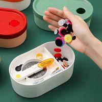 Box per cucire per la casa Pulsanti del filo dell'ago Set Set di strumenti di workbox Accessori ACCESSORI FAI DA TE Abbigliamento Tessuto Nozioni