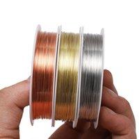 1 rouleau en alliage robuste en alliage cuivre Perling 0,2 0,3 0,4 0,4 0,5 0,6 0,7 0,8 1 mm Fil bricolage artisanat Fournitures pour accessoires de bijoux
