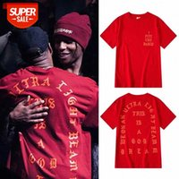 Coconout Kanye Bieber Я чувствую себя как Pablo с короткими рукавами и женщинами Пара Свободная футболка Tee # 5G3Q