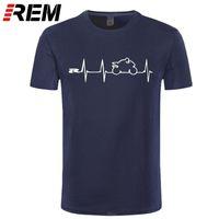 REM 새로운 멋진 티셔츠 티셔츠 일본 오토바이 하트 비트 GSXR 1000 750 600 K7 210329