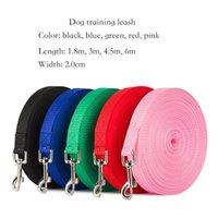 Haustier liefert Hunde-Traktionsleine mit einer Bandbreite von 2,0 cm1.8m3m4.5m6m Outdoor-Sicherheitstraining-Kabelbaum-Kragen-Leinen