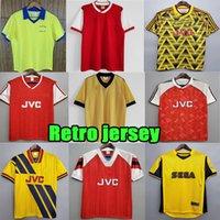 1971 레트로 Arsen 79 82 83 84 86 89 Wright Soccer Jerseys 1990 92 93 94 Henry Bergkamp Pires 홈 멀리 Uniform 98 99 2000 Jersey Highbury Vintage Football Shirts