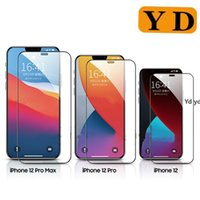 For iP 12mini Pro Max Full Cover Tempered Glass Screen Prote...