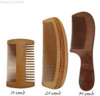 VOSAIDI Ahşap Tarak Detangling Şeftali Woodcomb Düz Saçlar Için Statik Tarak Cebi Tarak Kıvırcık Saçlar Için