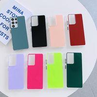 Pure Color Specchio Surface TPU Custodie per telefoni cellulari per iPhone 12 12mini 11 Pro Promax X XS Max 7 8 Plus Samsung S10 S20 Nota10 Nota20